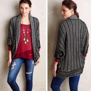 Anthropologie Moth Maija Cocoon Cardigan Sweater